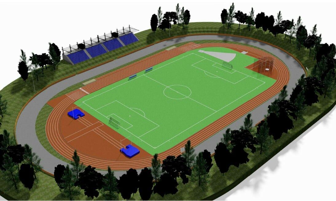 Kopřivnice: Letní stadion - vizualizace